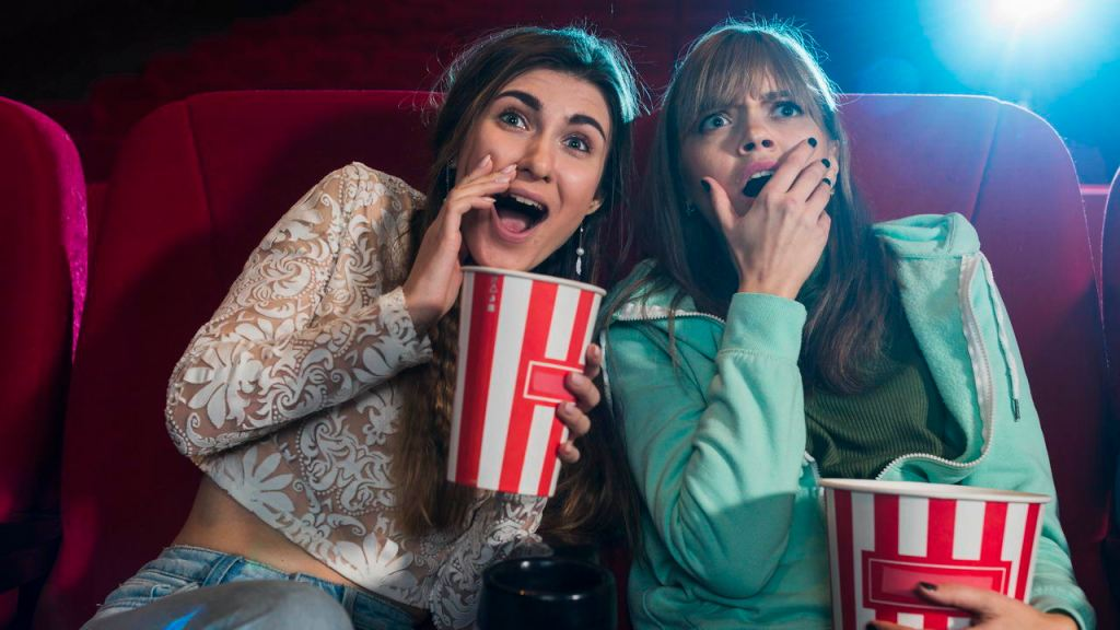 Tip Shack 12 Fun Ways to Relieve Stress Watch a horror movie