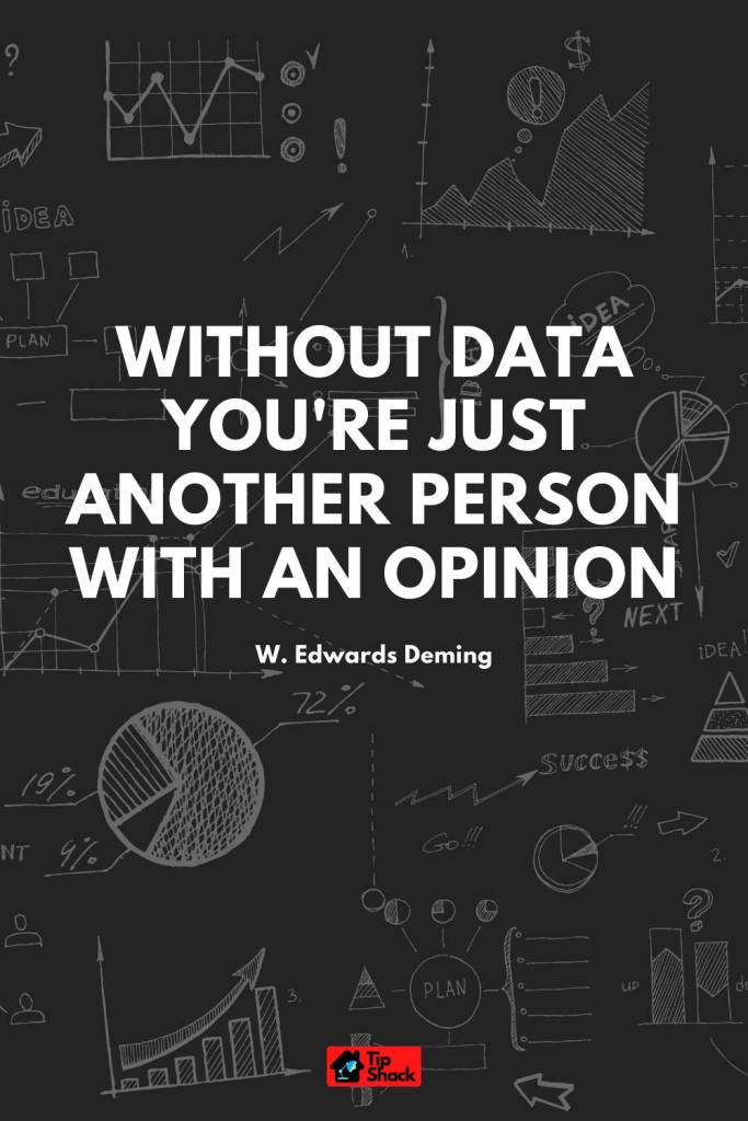 tip-shack.com Without data you're just another person with an opinion